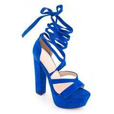 Ψηλό Πέδιλο Κ5050 Μπλε Suede