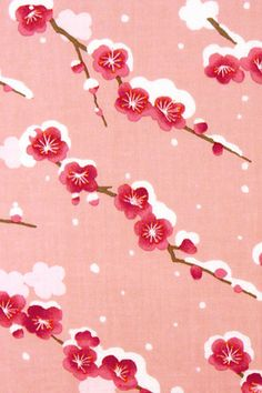 Japanese Tenugui cotton towel fabric. Botanical pattern / plum blossom + snow design. High quality tenugui fabrics made of soft 100% cotton cloth and hand dyed by Japanese master dyers.  [ H o w T o U s e ] * towel * washcloth * dishcloth * headband / bandanna * scarf * wall hanging (like a painting or textile) * wrapping * place mat * table runner / center piece * book jacket, and... MORE! Enjoy your own unique way!  [ M a t e r i a l ] Cotton 100%  [ D i m e n s i o n s ] 34×...