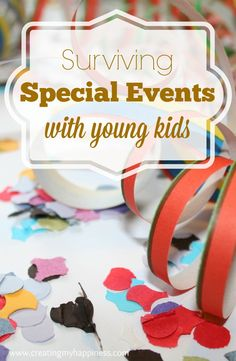 Special events can w