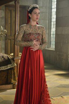 Reign, season 3, episode 9, 《 Wedlock 》. Queen Mary .