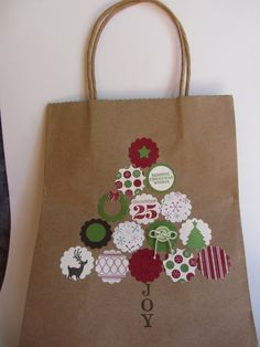 Gift bag : Stampin' Grounds  Stamping isn't just for cards!  debrasimonis.stampinup.net