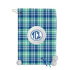 Custom Golf Towel - Golf Towel Monogrammed - Golf Towel - Personalized Towel   -  Plaid Golf Towel by tonygolfdesigns on Etsy Golf Towels, Monogram Styles, Country Of Origin, Plaid, Etsy, Design, Gingham, Tartan