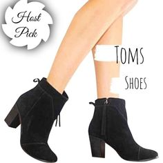 ✨HP✨TOMS Boots t o m s   s h o e s            s i z e :  8 c o l o r :  b l a c k p u r c h a s e d   i n   2 0 1 6 n e v e r   b e e n   w o r n                                         [more] : perfect for the upcoming festival season, ankle boots, coachella, stagecoach, outdoor concerts, casual boots                               Smoke Free Pet Free Price Negotiable through 'Offer Button' 20% off Bundles TOMS Shoes Heeled Boots