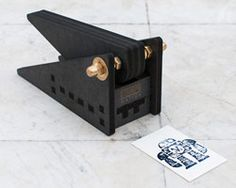 stampomatica 3D printed letterpress machines