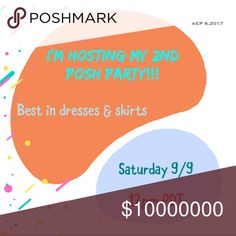 I'm hosting my 2nd Posh Party!!! Looking for host picks 😘 Dresses