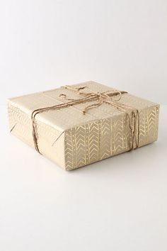 Glinting Arrows Wrapping Paper from Anthropologie