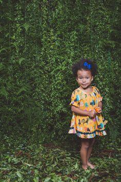 Vestido Beija Flor- Jardim