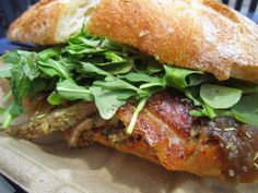 Roli Roti Porchetta Sandwich - From the Roli Roti Food Truck in San Francisco