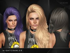 Da Bomb hairstyle by Nightcrawler by The Sims Resource for Sims 3 - Sims Hairs - http://simshairs.com/da-bomb-hairstyle-by-nightcrawler-by-the-sims-resource/
