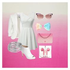 """White&Pink"" by eveselina on Polyvore featuring Chanel, Via Spiga, Yves Saint Laurent, PhunkeeTree and Worthington"