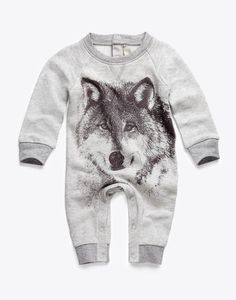 SO CUTE. Stella wolf baby.