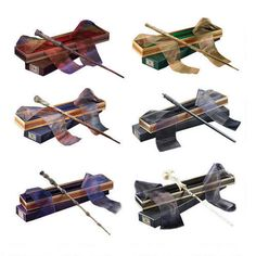 Each of the 6 wands I want, all in one place. And on sale for Harry's/JKR's birthday. Oh, to be rich.