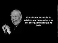 "Jorge Luis Borges  Poema ""Un lector""  Obra poética, 2. https://www.facebook.com/AutoraNYRZ"