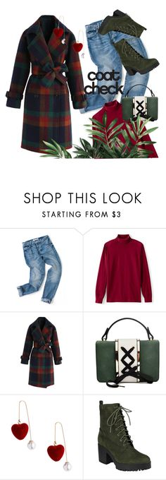 """""""Statement coats #2"""" by fishshow ❤ liked on Polyvore featuring Lands' End, Chicwish and statementcoats"""