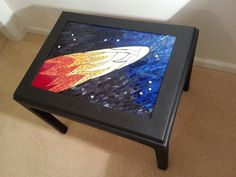 Mosaic Comet Table by Natalija Moss
