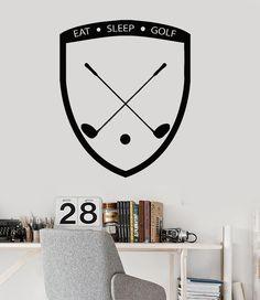Vinyl Wall Decal Golf Course Sports Golfing Garage Decor Sticker (ig3141)