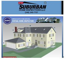 Suburban Home Inspections -  is the premier home inspection company in Michigan proudly serving Metro Detroit, Wayne, Oakland, Washtenaw and Macomb counties including the cities of Northville MI, Canton MI, Novi MI, Plymouth MI, Livonia MI, and surrounding areas. We have been trusted by home buyers to help them make informed buying decisions. Call Rob Zorzan 248-345-7707 Macomb County, Metro Detroit, Home Inspection, Plymouth, Michigan, Cities, Mansions, House Styles, Mansion Houses