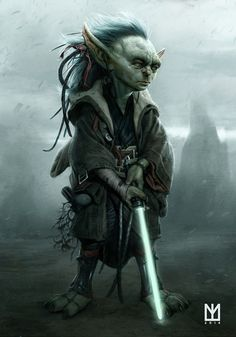 The young Jedi Master by Marco Teixeira
