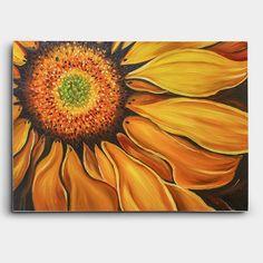 해바라기 그림은 풍수인테리어서 가장 대표적인 '돈을 부르는 그림 (돈이들어오는그림)'입니다.해바라기의 노란색이 金을 상징하며, 꽃이 흙(土)에서 피어나 결실을 맺기때문에, 재물운을 향상시키고자 하시는 분에게 안성맞춤입니다.주로 거실이나 현관에 많이 장식하며, 싸구려 그림이 아닌 유화를 이용해 그린 그림입니다.