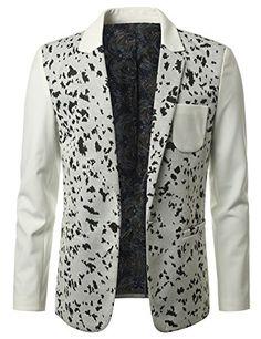 GET ME THOSE PUPPIES! MONDAYSUIT Men's One-Button Fashion Blazer Animal Print WHITE Jacket - SMALL MONDAYSUIT http://www.amazon.com/dp/B00T3O1F4E/ref=cm_sw_r_pi_dp_i8K5ub0N4EQ7Q