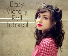 Easy victory roll tutorial!