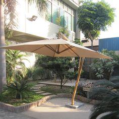 Papillon OMBRELLONE ALLUMINIO / LEGNO - http://www.bricoprice.it/shop/shop/arredo-giardino/papillon-ombrellone-alluminio-legno/