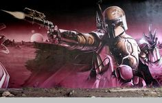 It is impressive the shading and detail of SmugOne's wall art, especially because he uses spray cans. He definitely has skills! Warning: This post may contain nudity and sexual references. Viewer discretion is advised. Photos © SmugOne Link via Sweet Station