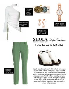 You need a pair of white shoes in your life whether it be sneakers, platform heels, or a simple pair of strappy sandals. White shoes give any outfit just a little more 'wow' factor. A tasteful, fun, and elegant look is very much achievable.