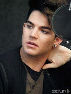 Adam Lambert Visits Sirius Radio