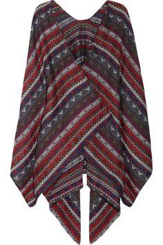 Missoni|Crochet-knit wool poncho|NET-A-PORTER.COM