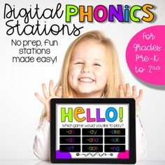 Needing to JAZZ up the activities in your computer and device reading and/or phonics stations??? Check this product out!! Students can work individually, pairs, small group, or in whole group settings to complete these activities using PowerPoint to review over