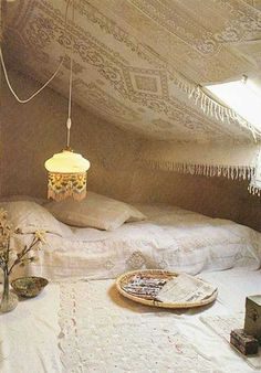 Attic bedroom! Isn't it stuning?