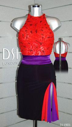 www.dancemothers.com Flavia Cacace flamenco latin dress