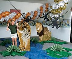 jungle decorations