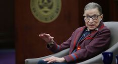 Supreme Court Justice Ruth Bader Ginsburg is pictured.   AP Photo