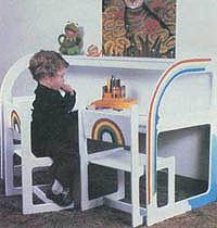 Free kid's chair plans including rocking chair plans, ladderback chair and a kid's chair swing. Brightly colored enamels make these chairs colorful additions to your child? Kids Places, Rocking Chair Plans, Ladder Back Chairs, Desk And Chair Set, Kid Desk, Weekend Projects, Swinging Chair, Children's Place, Wood Working