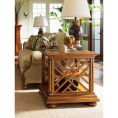 Tommy Bahama Home Island Estate Cliff House Book Table - 01-0531-943