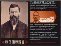 Mugshot Yourself Turns Your Portrait into a 19th Century Mugshot