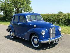 For Sale - 1950 Austin Devon Nut & Bolt Restoration - Classic Cars HQ Classic Cars British, Classic Trucks, British Car, Vintage Cars, Antique Cars, Austin Cars, Cars Uk, Import Cars, Small Cars