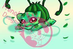 Bulbasaur art by Frenchy Designs