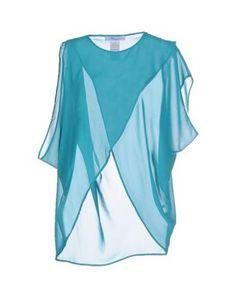 #Blumarine blusa donna Verde petrolio  ad Euro 211.00 in #Blumarine #Donna camicie bluse