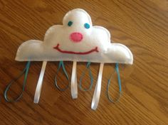 Cloud taggy rattle and more on FB at Little Blessings Gifts