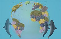 Ojolie eCard - Blue Planet - Delightful animated cards - What a nice way to send a bit of love to family and friends