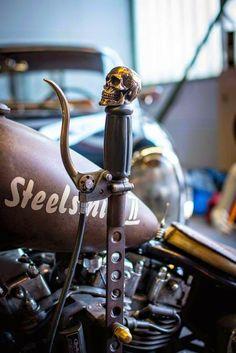 Motos Bobber, Bobber Bikes, Bobber Motorcycle, Moto Bike, Vintage Motorcycles, Custom Motorcycles, Custom Bikes, Custom Motorcycle Parts, Custom Bobber