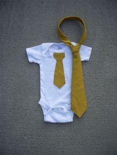 Toddler Tie and Onesie Set by ashleyNEF on Etsy, $27.00