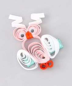 Take a look at this Pink & White Owl Clip by The Hair Candy Store on #zulily today!