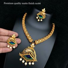 whatsapp worldwide shipping available at Gold Temple Jewellery, Gold Jewellery Design, Gold Jewelry, Delicate Gold Necklace, Gold Choker, Peacock Jewelry, Gold Mangalsutra Designs, Ankle Jewelry, Necklace Designs