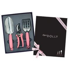 Hello Dolly - Gardening Set in Gift Box https://weddingshop.theknot.com/product/hello-dolly-gardening-set-in-gift-box