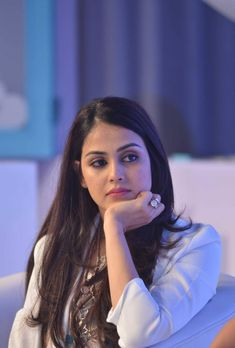 Actresses Genelia Deshmukh during the launch of a Baby Dove product in Mumbai on Oct Indian Bollywood Actress, Beautiful Bollywood Actress, Most Beautiful Indian Actress, South Indian Actress, Beautiful Actresses, Indian Actresses, Beauty Full Girl, Beauty Women, Genelia D'souza