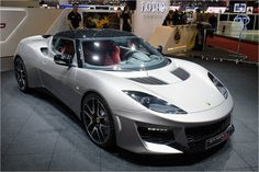 The all new Lotus Evora 400.